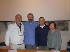 Angelo Valerio, Maurizio Tondolo, Antonio Saccoccio, Roberta Tucci