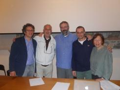 Luigi Di Corato, Angelo Valerio, Maurizio Tondolo, Antonio Saccoccio, Roberta Tucci